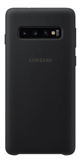 Capa Protetora Samsung Galaxy S10 Silicone Preto