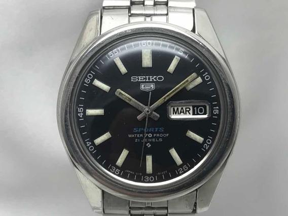 Relógio Seiko Sports Water 70 Proof 21 Jewels Calibre 6119 C De Dezembro De 1970 Relogiodovovô