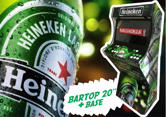 Fliperama Bartop 20 Pol Com Base 43000 Jogos Malvadeza
