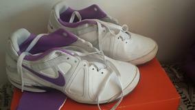 Tênis Nike Branco/lilás, No 38, Feminino, Seminovo