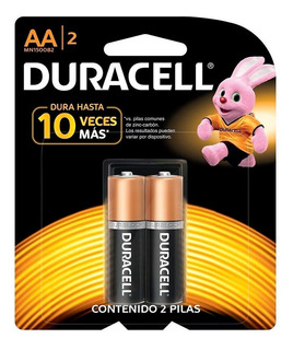 Pilas Duracell Aa Blister X 2 Unidades