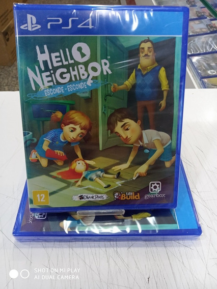 Jogo Hello Neighbor Esconde - Esconde Ps4 Original Português