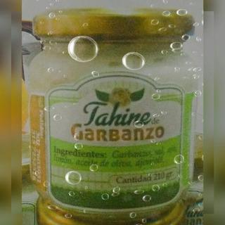 Tahine Crema De Garbanzos 100% Natural Sin Aditivos