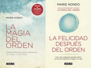 La Magia Del Orden + La Felicidad - Marie Kondo - Envio Ya!