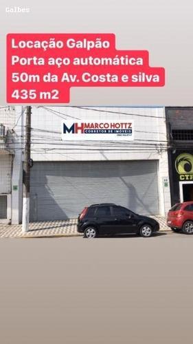 Galpão Para Locação Em Santos, Ponta Da Praia - 2000/2488_1-1278069