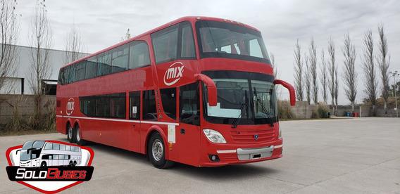 Bus Omnibus Troyano 2015 - 60 Mix - Impecable - Scania K410