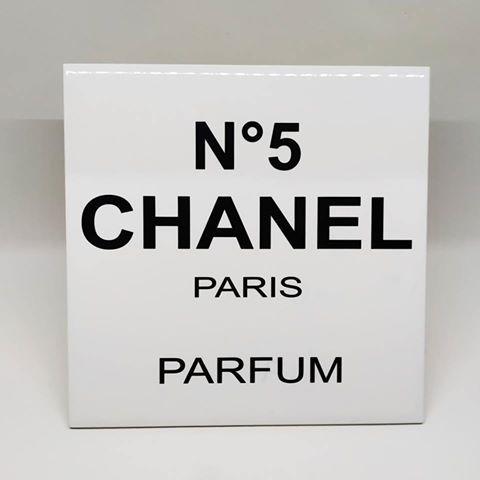 Decor Luxo Chanel Paris Parfum R 45 00 Em Mercado Livre