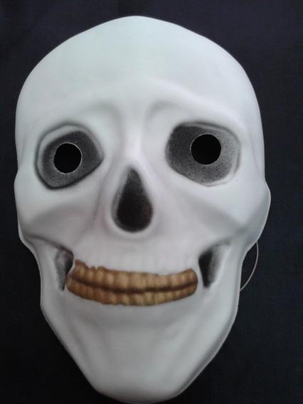 Mascara De Goma Eva Calavera Halloween Sanca