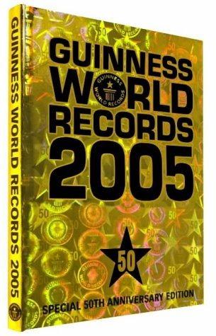 Livro Guiness Book World Records 2005