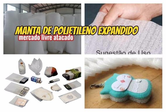 Manta Acrilica 2mm P/piso Laminado Ou Embalagens Kit C/28mt²