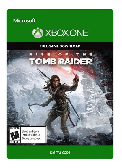 Rise Of Tomb Raider Xbox One Digital - Código De 25 Dígitos