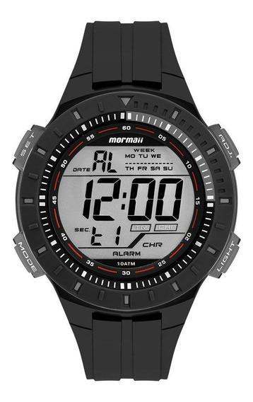 Relógio Mormaii Masculino Wave Preto Mo3620aa8p