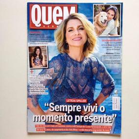 Revista Quem 790/15 - Letícia/carol/madonna/ana Arósio