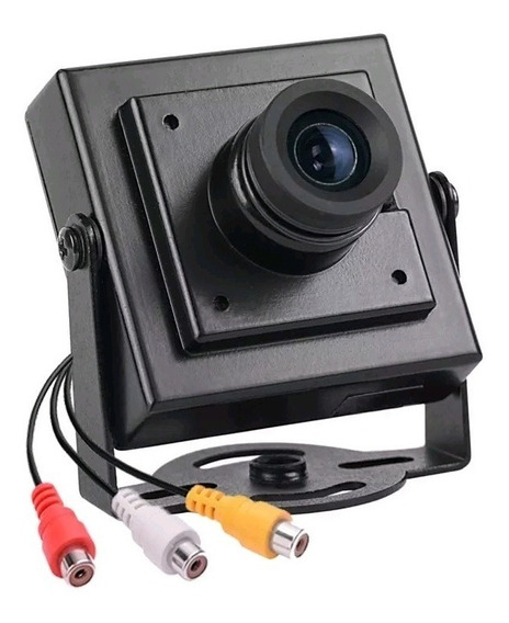Mini Câmera Segurança Ccd 800 Linhas Filmadora Cftv