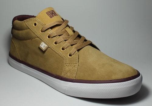 Tênis Dc Shoes Council Mid Adys300050-tan Bege