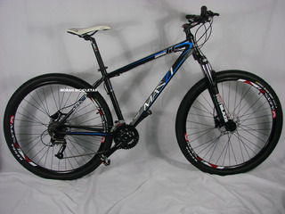 Bicicleta R29 Mazzi 27v Con Frenos Hidráulicos Shimano