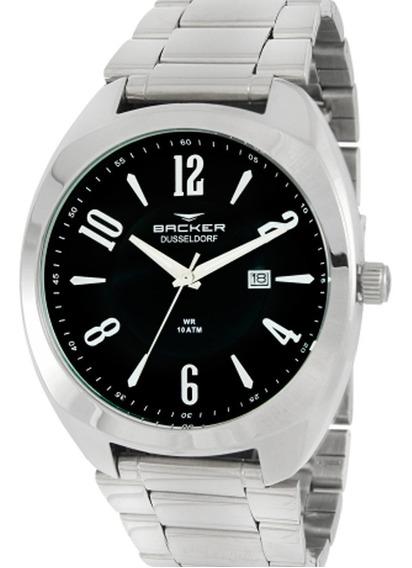 Relógio Backer Dusseldorf - 6101253m + Nf-e