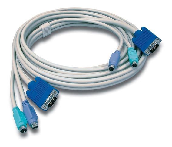 Cable Kvm Ps/2/vga De 3 Metros 10 Pies Trendnet Tk-c10