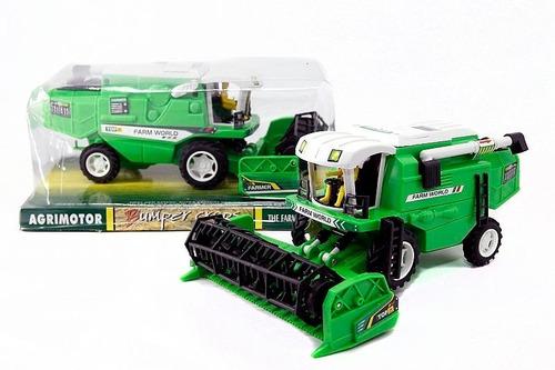 Maquina De Campo Cosechadora Agrimotor A Friccion Jlt 8808