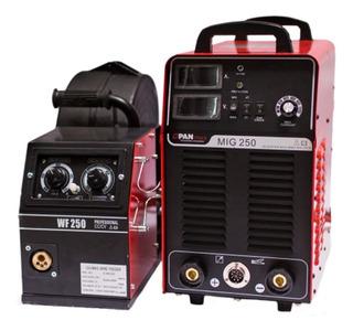 Máquina De Solda Inversora Mig/mma 250a Top Flex Pantools