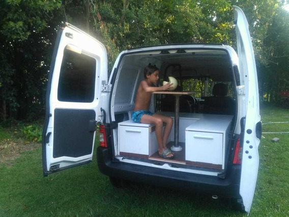 Mini Camper Box Para Fiorino Kangoo Berlingo Partner Camio