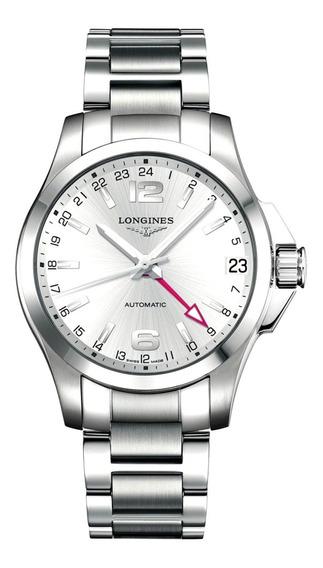 Relógio Longines Conquest - Automático - Gmt - Original