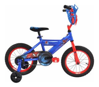 Bicicleta Huffy 14 Spider Man Hombre Araña
