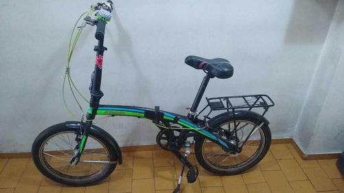 Bicicleta Plegable Bsmart Rodado 20