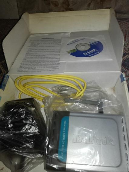 Router Dl-pinkm Para Internet