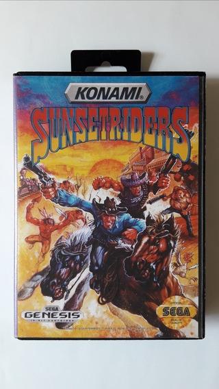Sunset Riders Mega Drive Leia O Anúncio