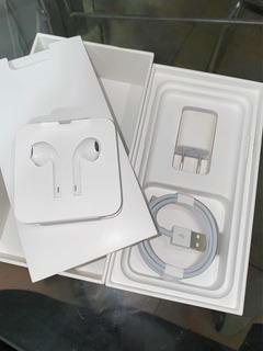 Kit Apple Original Nunca Usado Carregador Completo + Fone
