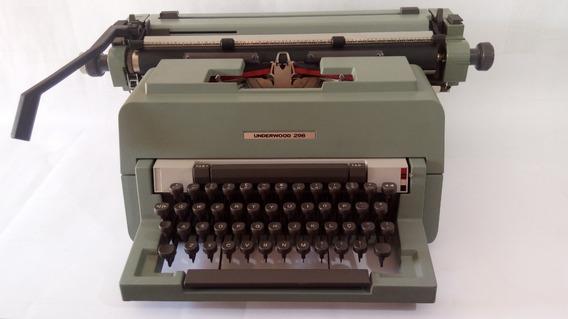 Máquina Escrever Underwood 298 - Novíssima - Raridade