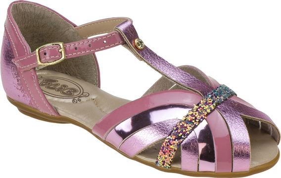 Sandália Infantil Feminina Glitter Festa 404206
