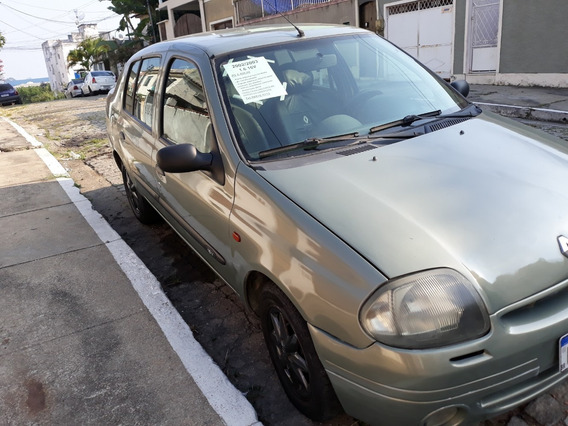 Renault Clio Rt 1.6 16v 2002/2003 - Vistoriado 2019 - R$ 8.5