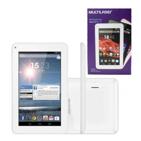 Tablet 7 Multilaser M7s Quad Core 8gb Wifi - Branco (nb185)
