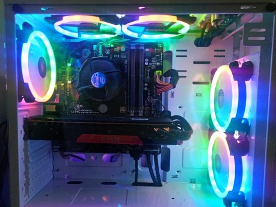 Computador Gamer Completo (i54670k/ssd/8gb/radeon 270x/rgb)