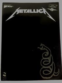 Songbook Metallica Black Album (guitar Authorized Edition)
