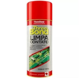 Three Bond - Limpa Contato Elétrico Spray De 250 Ml