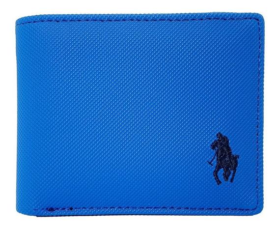 Cartera Hpc Polo Passcase Azul Eléctrico