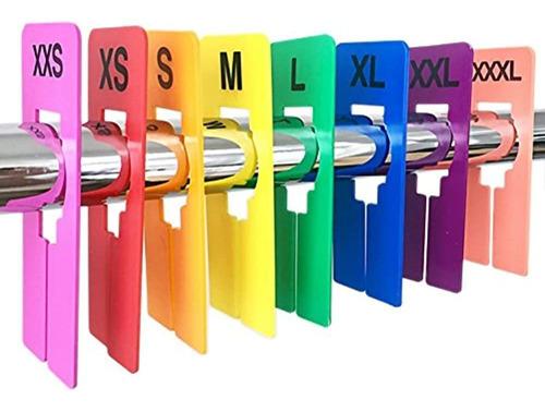 Imagen 1 de 5 de Tamaño De Descuento 16 Piezas De Ropa De Color Divisores De