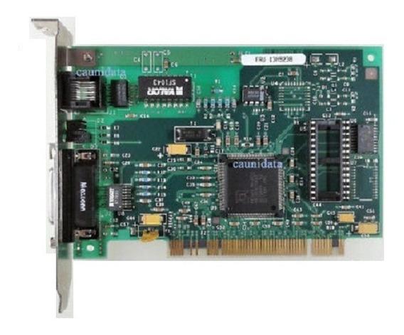 Placa Fax Modem Ibm Pci Ethernet Adapter P/n Fru-13h9238