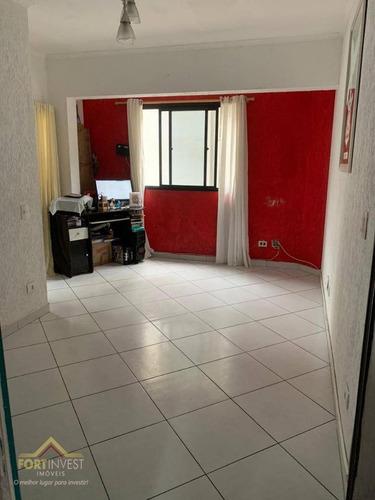 Imagem 1 de 3 de Apartamento Com 2 Dormitórios À Venda, 75 M² Por R$ 240.000,00 - Tupi - Praia Grande/sp - Ap2089
