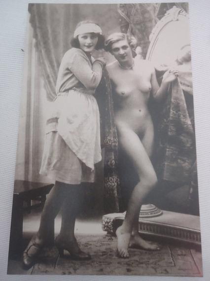 Antigo Nu Artístico Anos 1910-1920 Edição Moderna