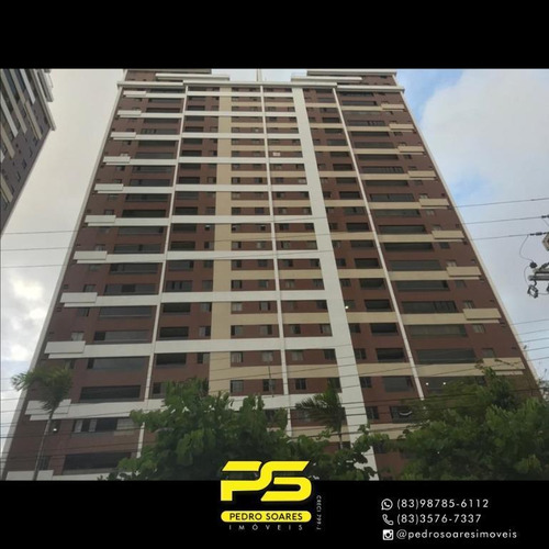 Apartamento À Venda, 85 M² Por R$ 572.000,00 - Bairro Dos Estados - João Pessoa/pb - Ap4345