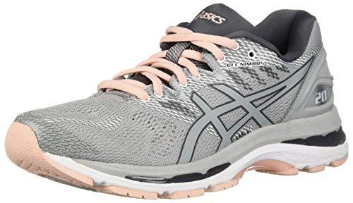 Zapatillas De Running Asics Gel nimbus 20 Para Mujer, Gris