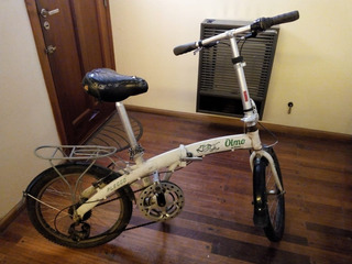 Bici Olmo Pleggo Aluminio Full Rod 20 - 7 Vel. Shimano