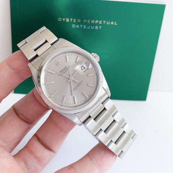 Rolex Datejust 36 Grey Dial Impecável