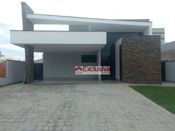 Casa Com 3 Dormitórios À Venda, 195 M² Por R$ 980.000,00 - Condomínio Terras Do Cancioneiro - Paulínia/sp - Ca1561