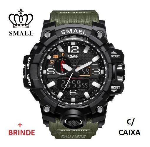 Relógio Esportivo G.chock Smael Mod. Novo 1545 C/caixa Prova D