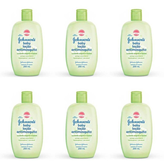 Johnsons Anti Mosquito Loção Hidratante 200ml (kit C/06)